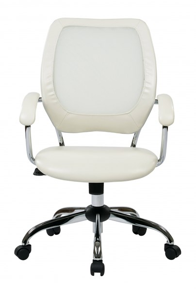 EM Series Designer Screen Back White Black Managers Chairs OSP-EM52022C-CH-VAR