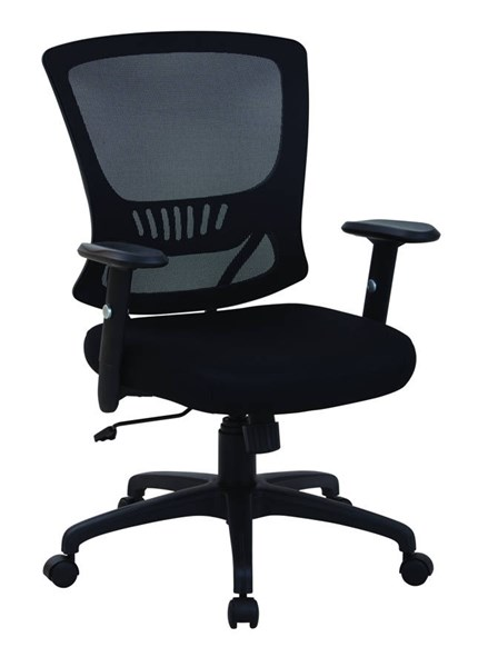 EMH Series Contemporary Black Mesh Back & Seat Locking Tilt Task Chair OSP-EM91027-3M