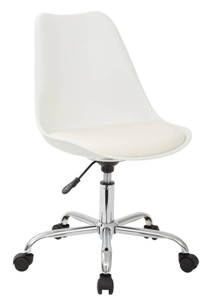 Emerson Student Office Chair With Pneumatic Chrome Base OSP-EMS26-CH-VAR