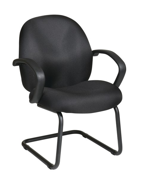 EX Series Black Fabric Conference / Visitor Chair OSP-EX2655-231