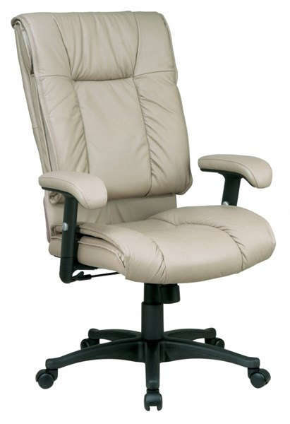EX Series Tan High Back Deluxe Leather Executive Chair OSP-EX9382-1