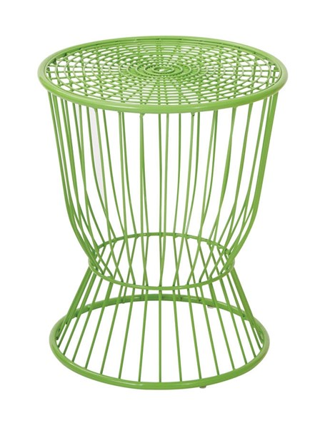 Modern Green Steel Accent Table OSP-FCD130AS1-6