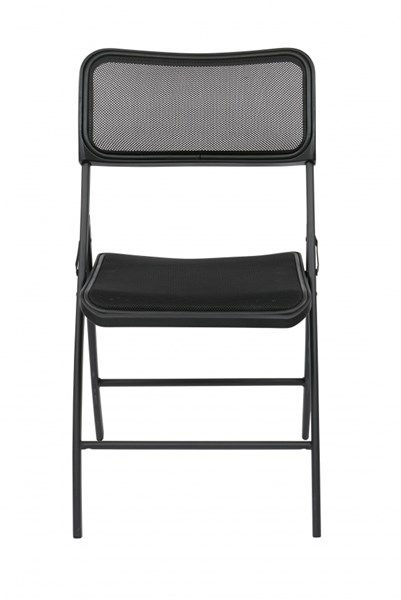 2 FF Series Folding Chairs w/Screen Seat & Back OSP-FF-22-CH-VAR