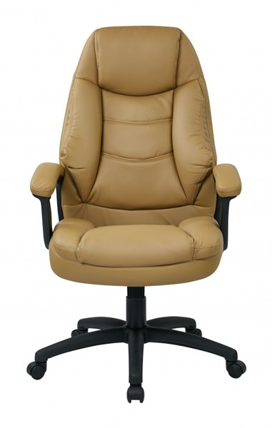 FL Series Oversized Faux Leather Executive Chairs w/Padded Arms OSP-FL3422-U-CH-VAR