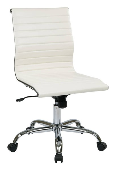 FL Series Thick Padded Faux Leather Seat & Back Armless Chair OSP-FL3830C-U-CH-VAR