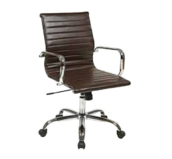 FL Series Thick Padded Faux Leather Seat & Back w/Arm Chair OSP-FL3836C-U-CH-VAR