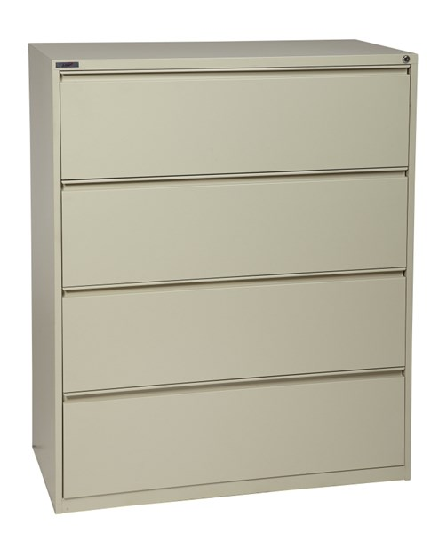 Putty Metal Wide 4 Drawer Lateral File (L 20 X W 42 X H 52) OSP-LF442-P