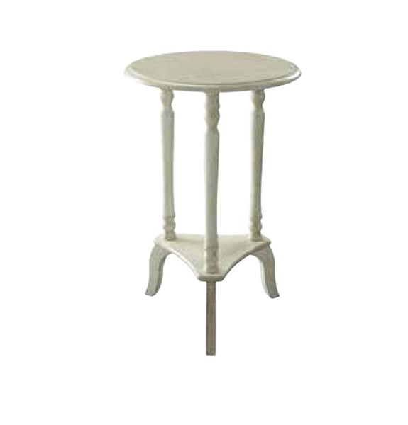 Marion Antique Beige Wood Round Accent Table OSP-MAR10-YCM2