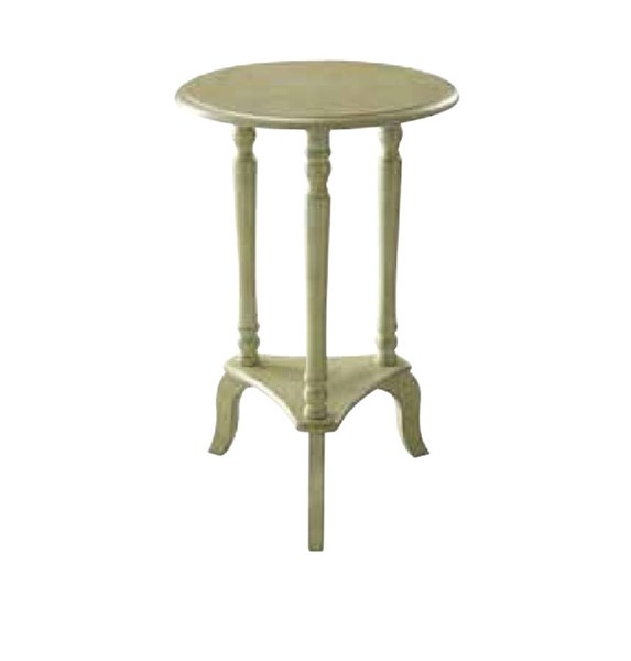 Marion Antique Celadon Wood Round Accent Table OSP-MAR10-YM20