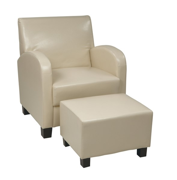Metro Transitional Bonded Leather Club Chairs OSP-MET807-LCH-VAR1