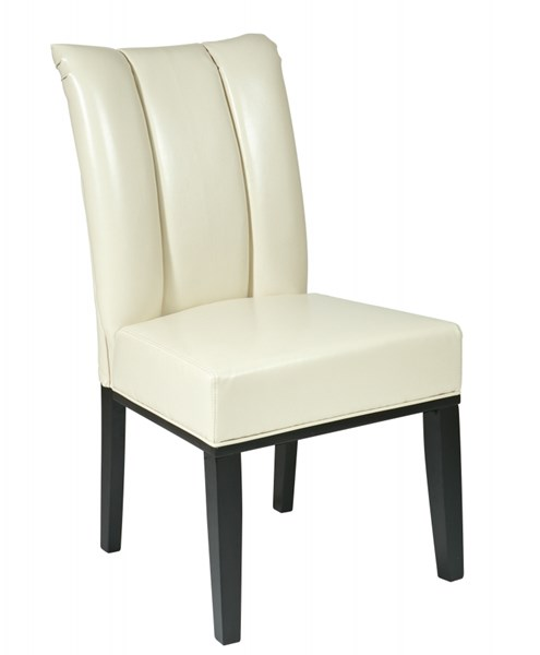 Metro Contemporary Wood Bonded Leather Parsons Chairs OSP-MET89-DCH-VAR