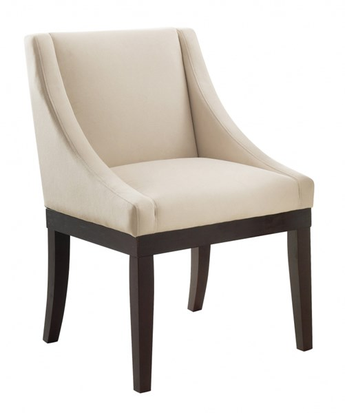 Monarch Contemporary Oyster Velvet Solid Back Cushion Chair OSP-MNA-X12