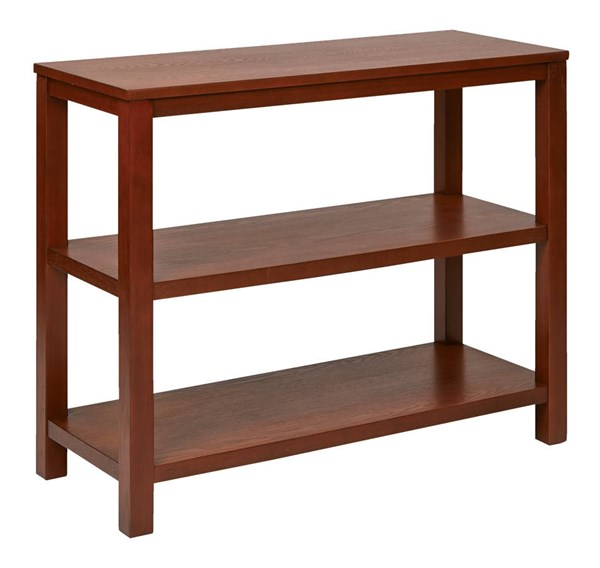 Merge Transitional Cherry Solid Wood MDF Foyer Table OSP-MRG07R1-CHY