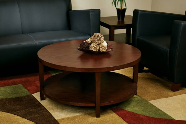 Merge Transitional Solid Wood MDF 3pc Coffee Table OSP-MRG09S-12-CT-S-VAR