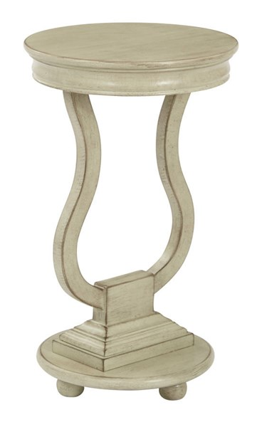 Chase Brushed Antique Celadon Assembled Round Accent Table OSP-OP-CHAS1-YM20