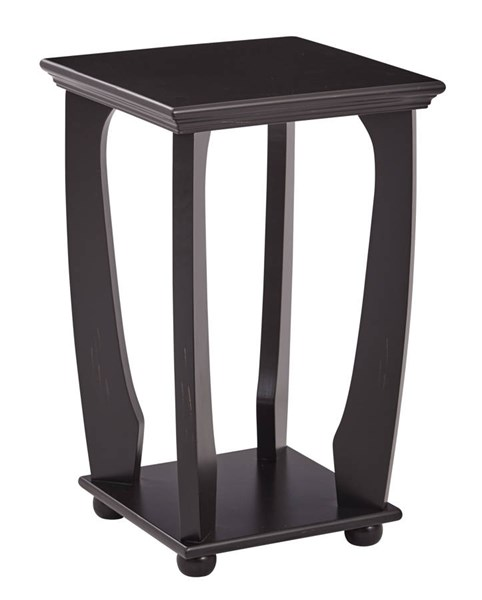 Mila Square Accent Table in Brushed Wood Finish Ships Fully Assembled OSP-OP-MLAS1-TBL-VAR