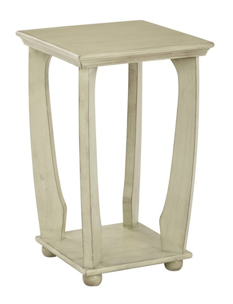 Mila Transitional Antiique Celadon Wood Square Accent Table OSP-OP-MLAS1-YM20