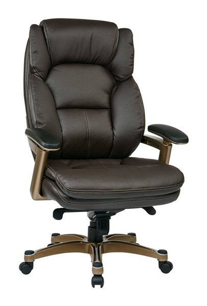 OPH Series Cocoa Espresso Bonded Leather Executive Chair OSP-OPH61601-EC1