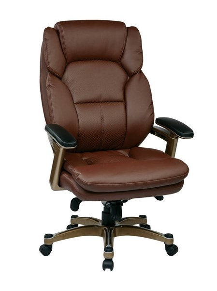 OPH Series Cocoa Wine Bonded Leather Executive Chair OSP-OPH61601-EC6