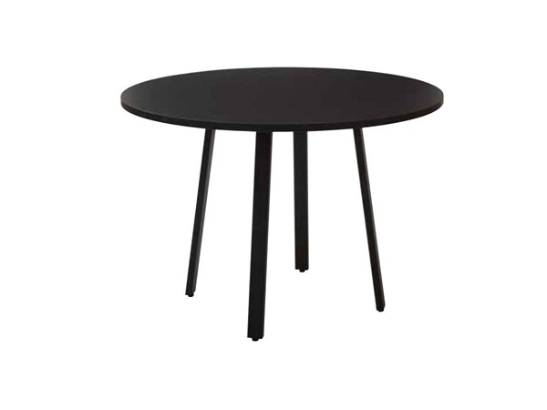 Prado Laminate Top Metal Legs 42 Inch Round Conference Table OSP-PRD42RT-TBL-VAR