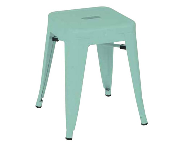4 Patterson Contemporary Green Metal 18 Inch Backless Barstools OSP-PTR3018A4-16