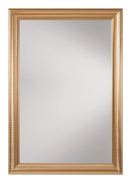 Savoy Rectangle Regency Gold Frame Wall Mirror OSP-SH9363-GLD