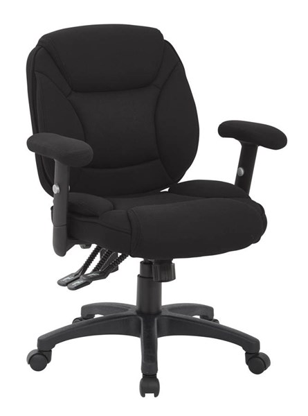 Spx Series Black Mesh Fabric Metal Multifunction Office Chair OSP-SPX2033-F3