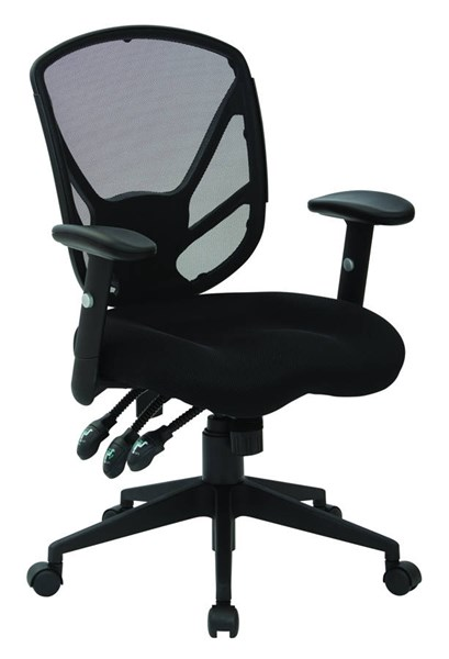Spx Series Contemporary Black Metal Nylon Office Chair OSP-SPX2723RNB-3
