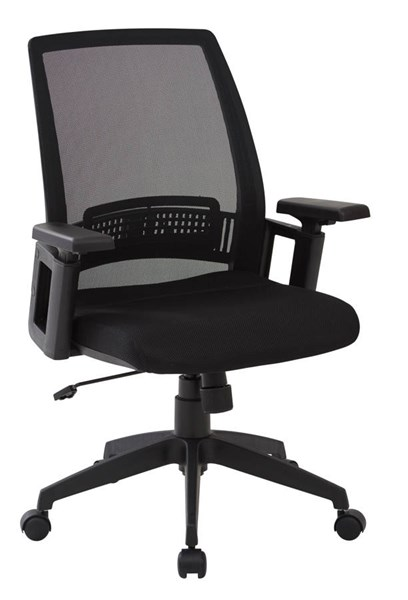 Spx Series Contemporary Black Mesh Fabric Metal Office Chair OSP-SPX61522-3