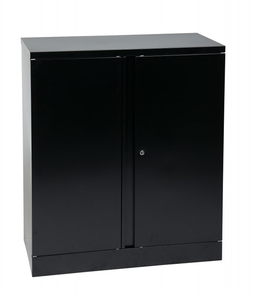 Metal 42 Inch High Storage Cabinet W/1 Adjustable Shelf OSP-ST423618-B OSP-ST423618-B