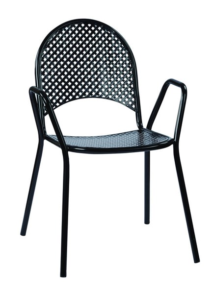 2 STC Series Contemporary Black Steel Stacking Chairs OSP-STC18A2-3