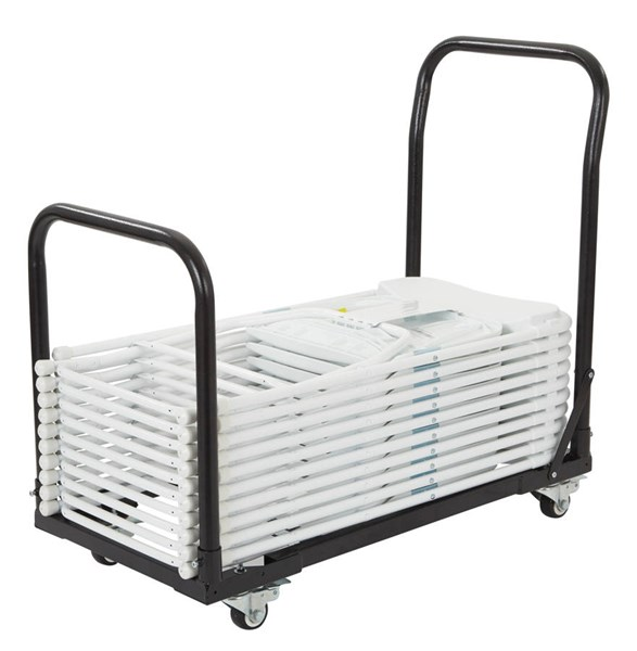 TC Collection Grey Metal Steel Dolly OSP-TC8815