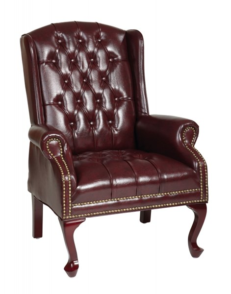TEX Collection Mahogany Traditional Queen Anne Style Chair OSP-TEX234-JT4
