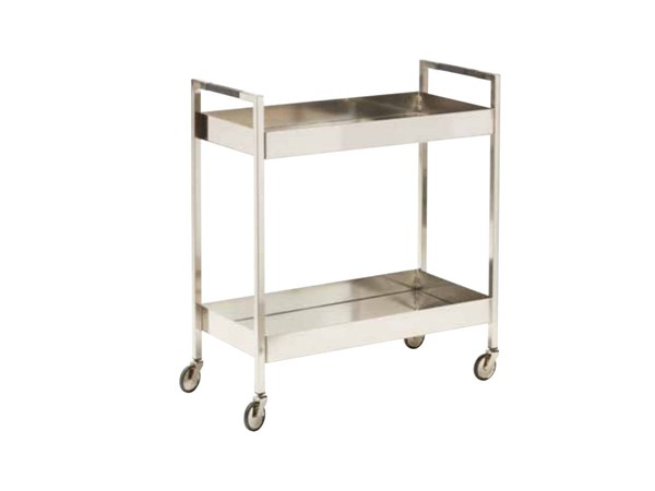 Wilshire Brushed Nickel 4 Stylish Casters Stainless Cart OSP-WIL4160-BN