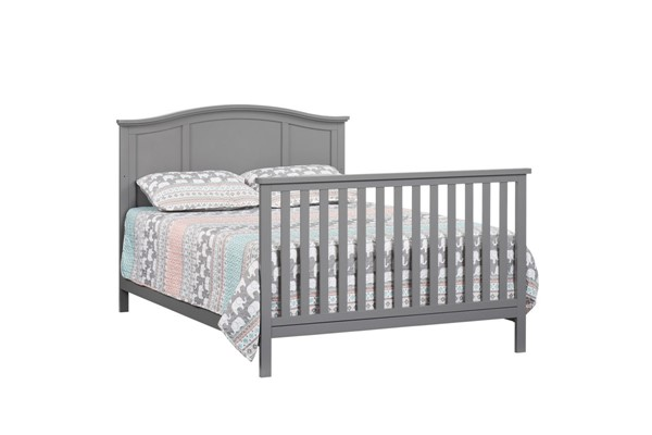 Oxford Emerson Dove Gray Full Convertible Panel Bed OXFD-66011550-F-BED