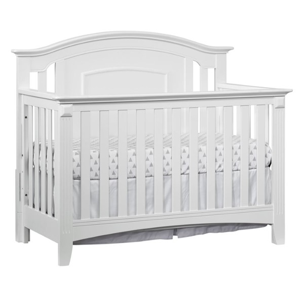 Oxford Willowbrook White 4 In 1 Convertible Crib OXFD-28111420