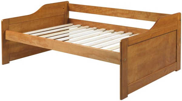 Rio Honey Pine Solid Wood Twin Daybed ( L 76.75 x W 43.50 x H 27.50 ) PIF-1324