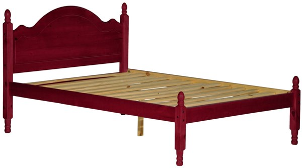 Reston Traditional Mahogany Solid Wood Full Panel Bed PIF-1442