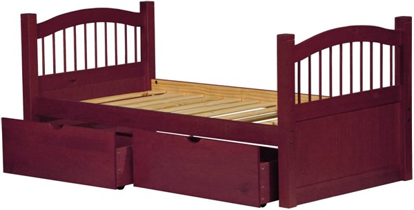 Palace Imports York Solid Wood Captain Beds With Drawers PIF-2232-VAR