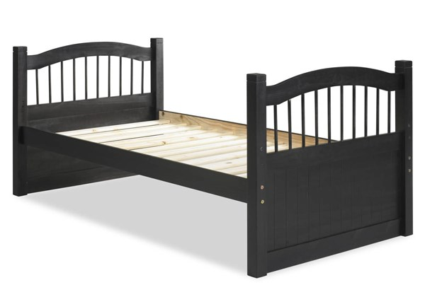 Palace Imports York Java Solid Wood Twin Captain Bed PIF-2236