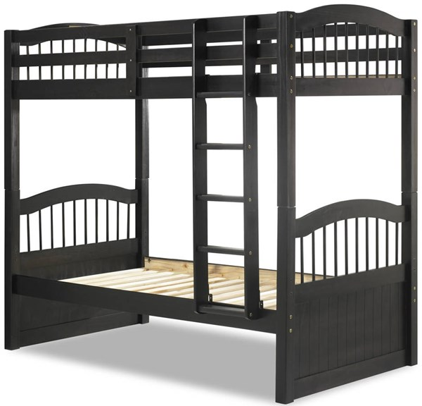 Triplet Java Solid Wood Twin/Twin Bunk Bed PIF-4016