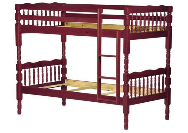 Palace Imports Arlington Solid Wood Twin Over Twin Bunk Beds PIF-403-BNK-BED-VAR