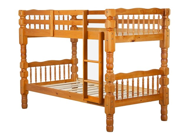 Palace Imports Dakota Wood Twin Over Twin Bunk Beds PIF-40-4001-BNK-VAR