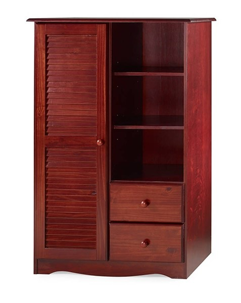 Bronx Solid Wood Door Chests w/5 Shelves & 2 Drawers PIF-590-DC-VAR