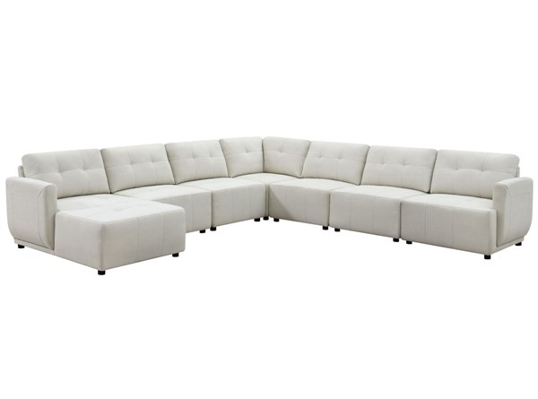 Picket House Gianni Left Hand Facing Modular 7pc Sectionals PKT-UAI52-LCHR7PC-SEC-V1