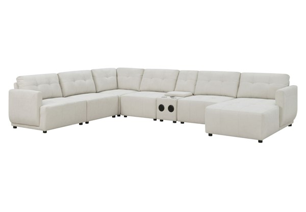Picket House Gianni Right Hand Facing Modular 7pc Sectionals With Chaise PKT-UAI52-RCSE7PC-SEC-V1