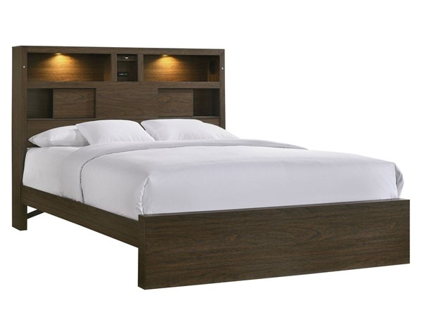 Picket House Hendrix Walnut Wood King Music Bed PKT-BY420KB