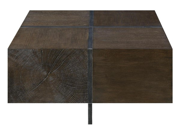 Picket House Elliot Cherry Wood Square Coffee Table PKT-CCB100SCTE
