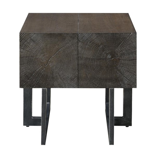 Picket House Elliot Cherry Wood Square End Table PKT-CCB100SETE