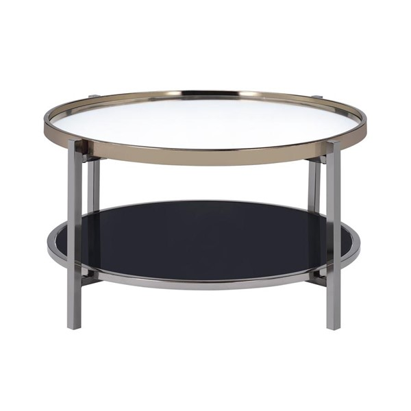 Picket House Monaco Gold Slate Round Coffee Table PKT-CEH100CTE